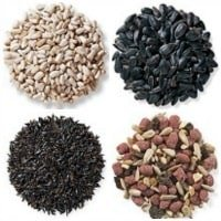 different bird seed types