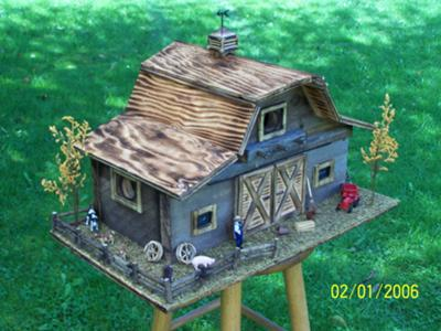 barn birdhouse plans
