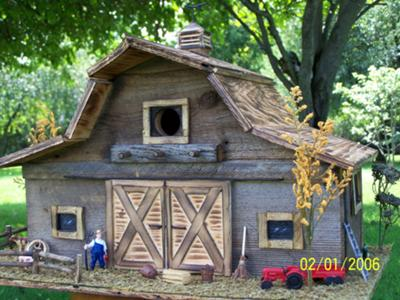 Barn Board Birdhouse Plans