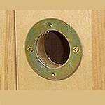 birdhouse hole guard