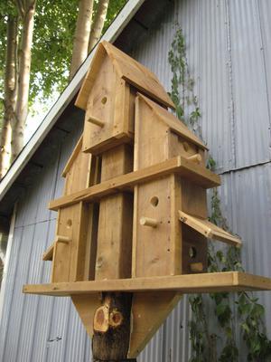 Holiday Bird House