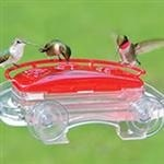 window mounted hummingbird feeder