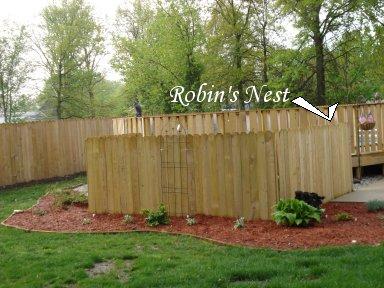 Pool Robin's Nest