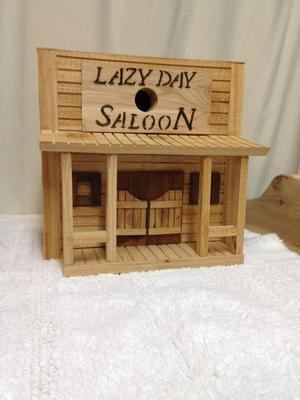The Lazy Day Saloon (front)