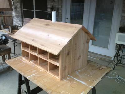 Western Red Cedar Purple Martin House