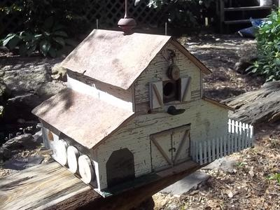 Unique birdhouses - Old barn wood bird houses ...