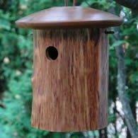 Natural Chickadee House