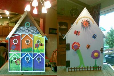 Springwater School Bird House