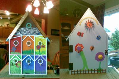 Springwater School Bird House